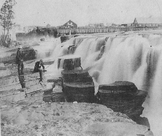 Chaudiere Falls - Circa 1880