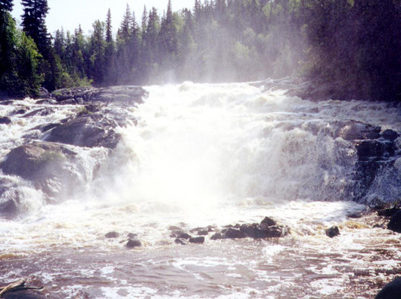 Misema River - Before Hydro Facility