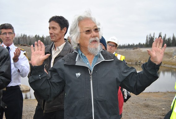 Dr. David Suzuki was amazed there was no jail time over this.